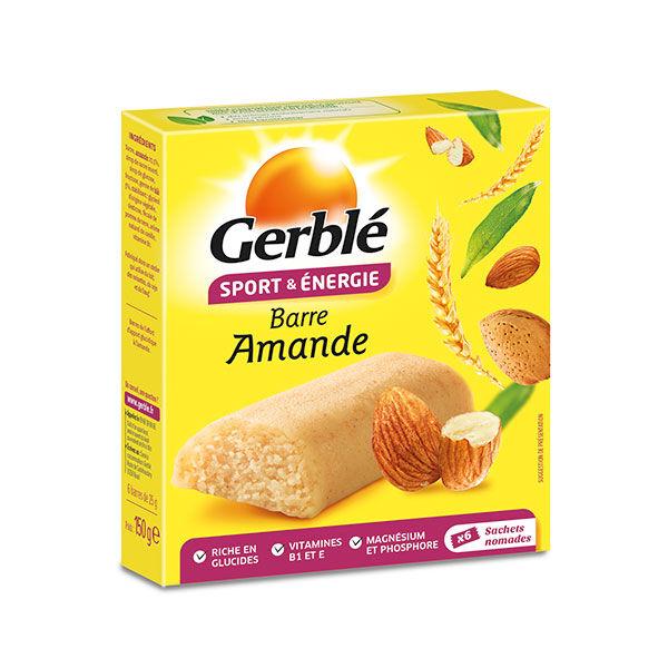 Gerblé Sport & Énergie Barre Amande 6 barres