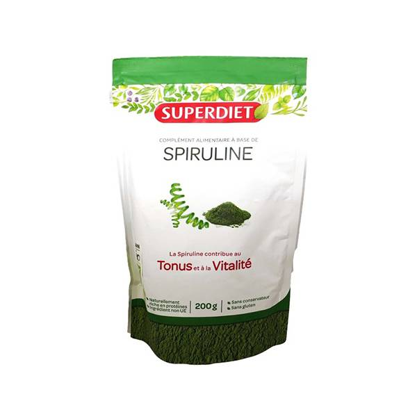 SuperDiet Super Diet Superfood Spiruline Bio 200g