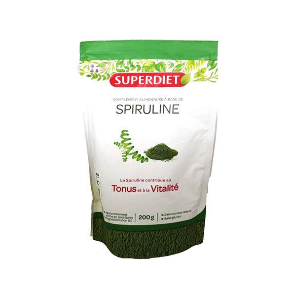 Superdiet Superfood Spiruline Bio 200g