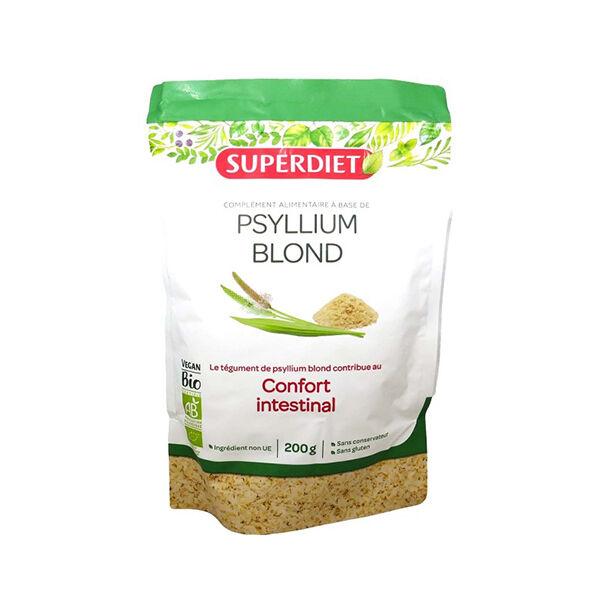 SuperDiet Super Diet Superfood Téguments de Psyllium Blond Bio 200g