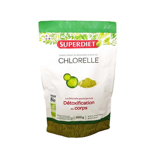 SuperDiet Super Diet Superfood Chlorelle Bio 200g