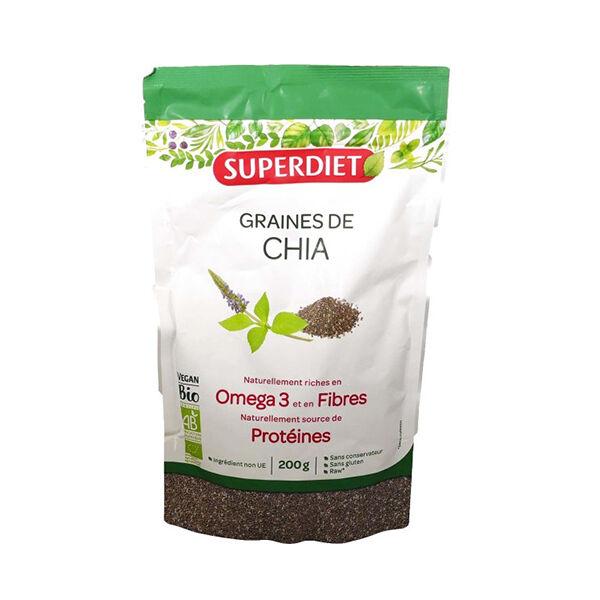 Superdiet Superfood Graines de Chia Bio 200g
