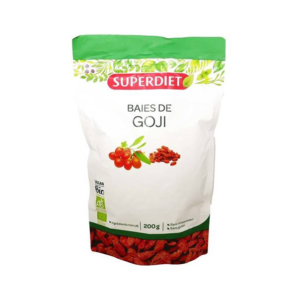 Super Diet Superfood Baies de Goji Bio 200g