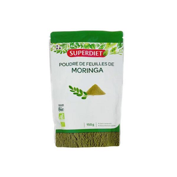 Super Diet Poudre de Feuilles de Moringa 150g