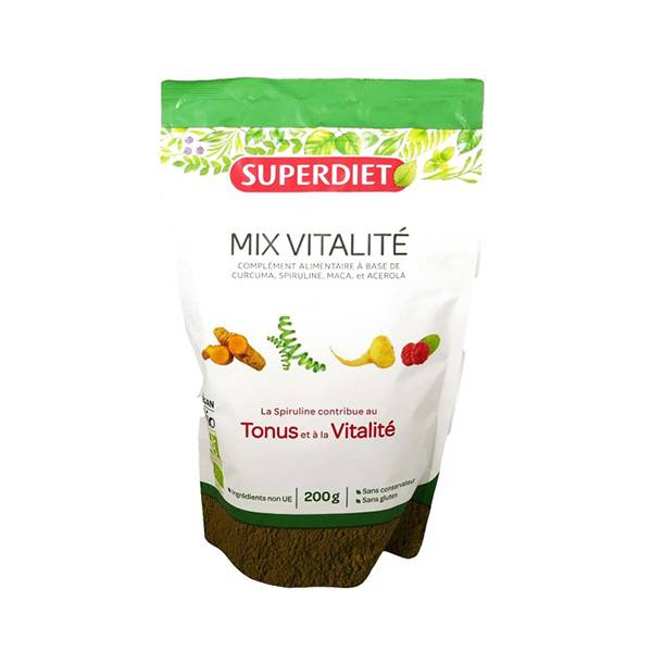 Superdiet Superfood Mix Vitalité Bio 200g
