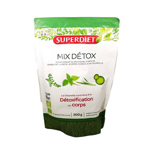 Superdiet Superfood Mix Détox Bio 200g