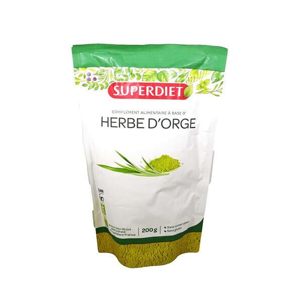 Super Diet Superfood Herbe d'Orge Bio 200g