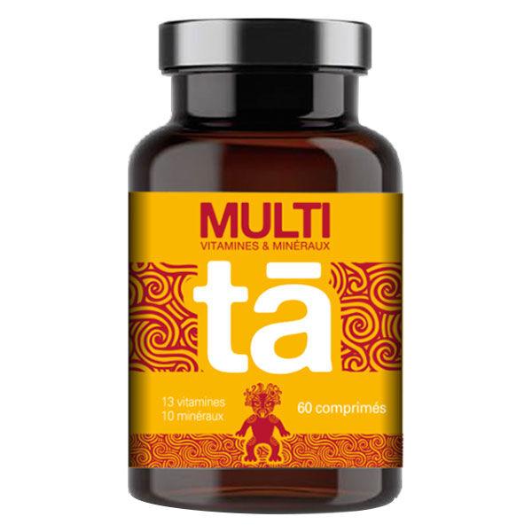Tā Energy Multi Vitamines & Minéraux 60 comprimés
