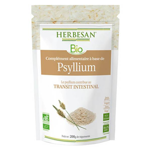 Herbesan Superfood Psyllium Bio Téguments 200g