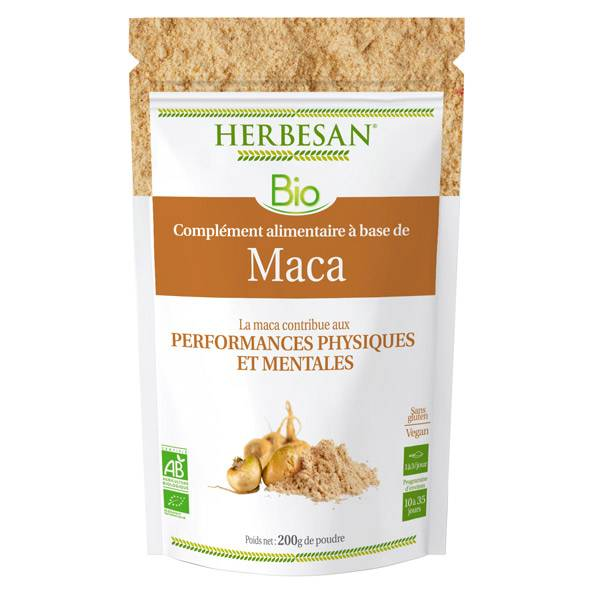Herbesan Superfood Maca Bio poudre 200g