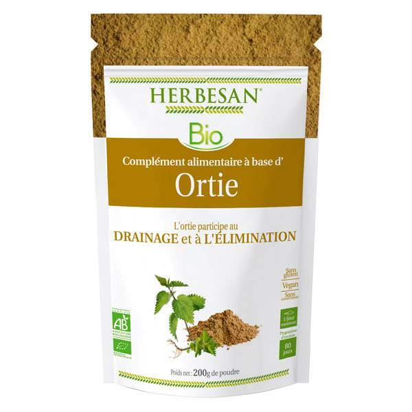 Herbesan Superfood Ortie Bio 200g