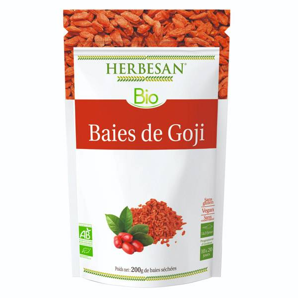 Herbesan Superfood Baies de Goji Bio 200g
