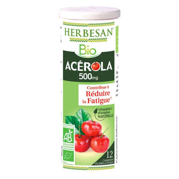 Herbesan Acérola 500 Bio 12 comprimés