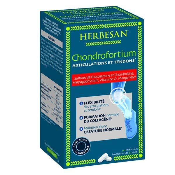 Herbesan Chondrofortium 90 comprimés