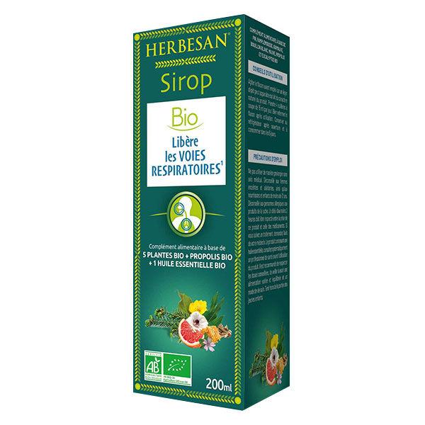 Herbesan Sirop Respiration Bio 200ml