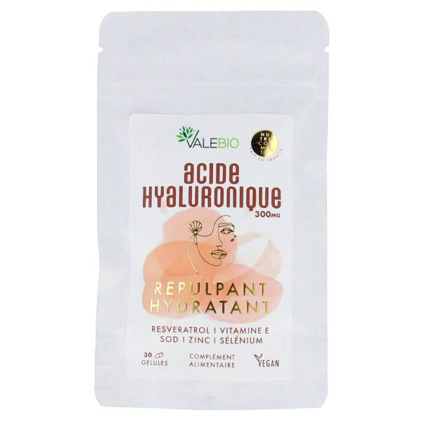 Valebio Acide Hyaluronique 300mg 30 gélules