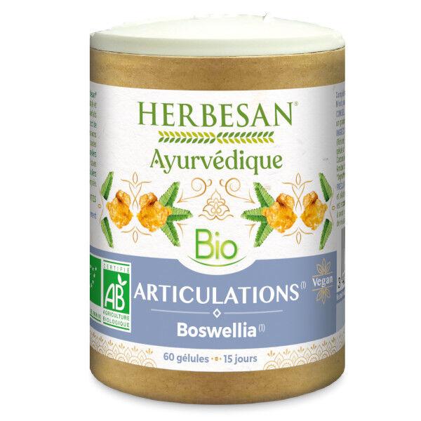 Herbesan Ayurvedique Bio Articulations Boswellia 60 gélules