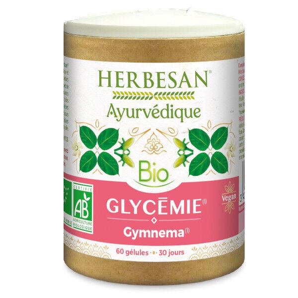 Herbesan Ayurvedique Bio Glycémie Gymnema 60 gélules