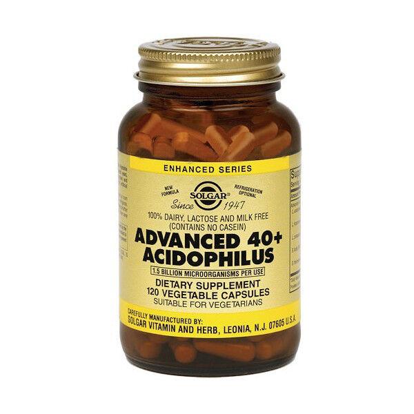 Solgar Advanced 40 Plus Acidophilus 120 gélules végétales