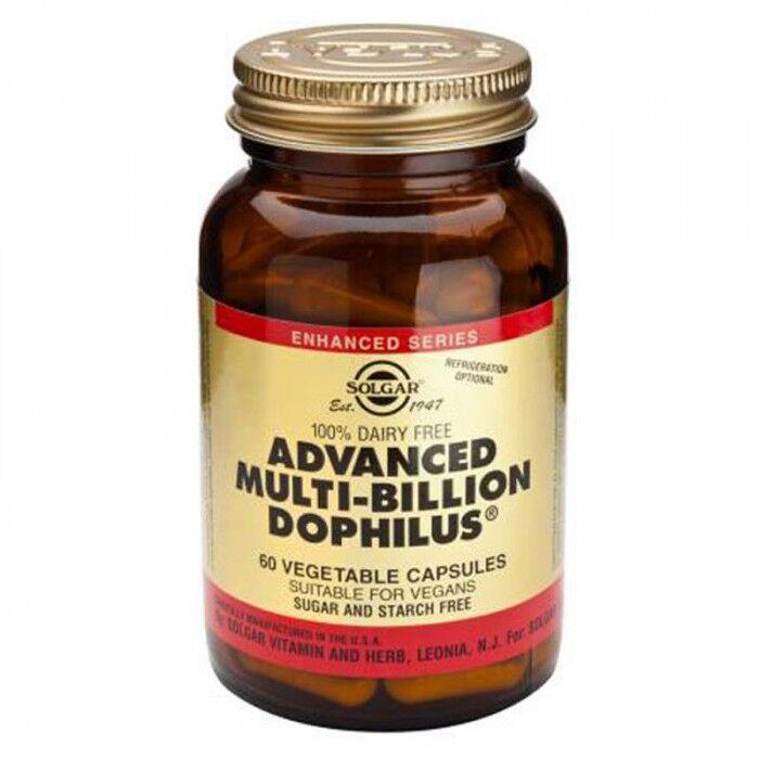 Solgar Advanced Multi-Billion Dophilus 60 gélules végétales