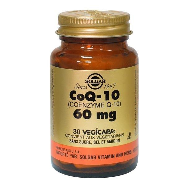 Solgar Co Q10 60mg 30 gélules végétales