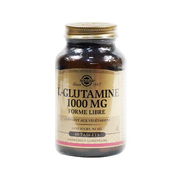 Solgar L-Glutamine 1000mg 60 gélules végétales