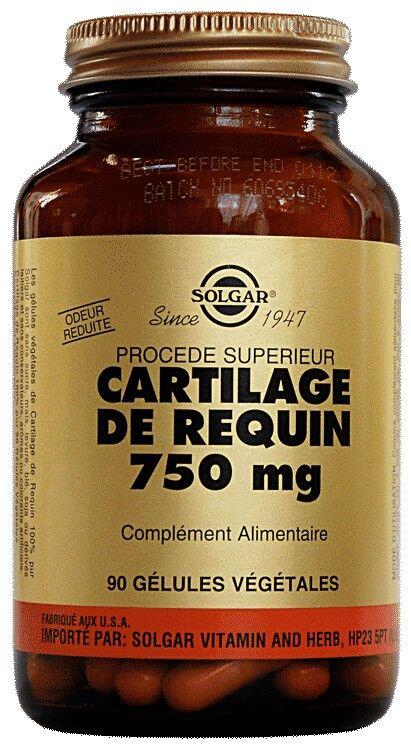 Solgar Cartilage de Requin 90 gélules végétales