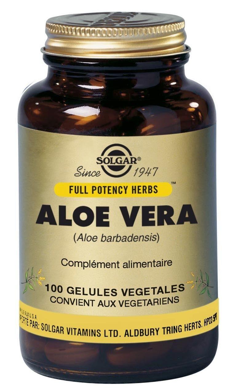 Solgar Aloé Vera 100 gélules végétales