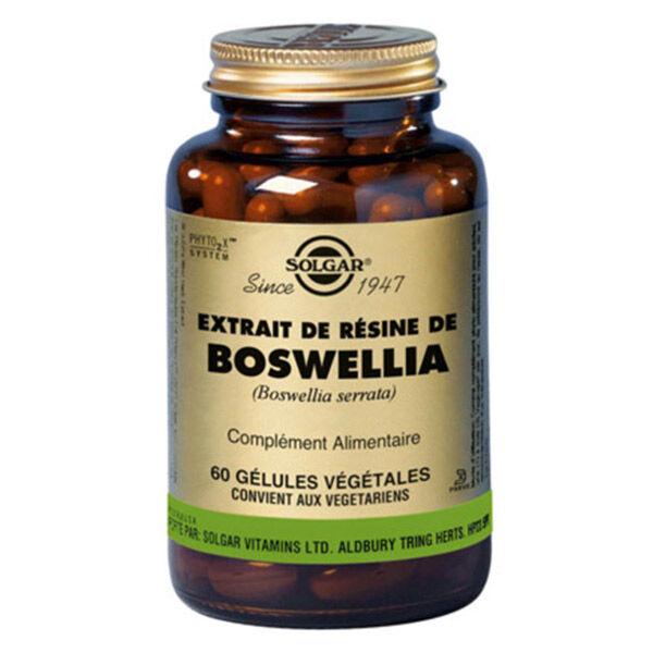 Solgar Extrait de Résine de Boswellia 60 gélules végétales