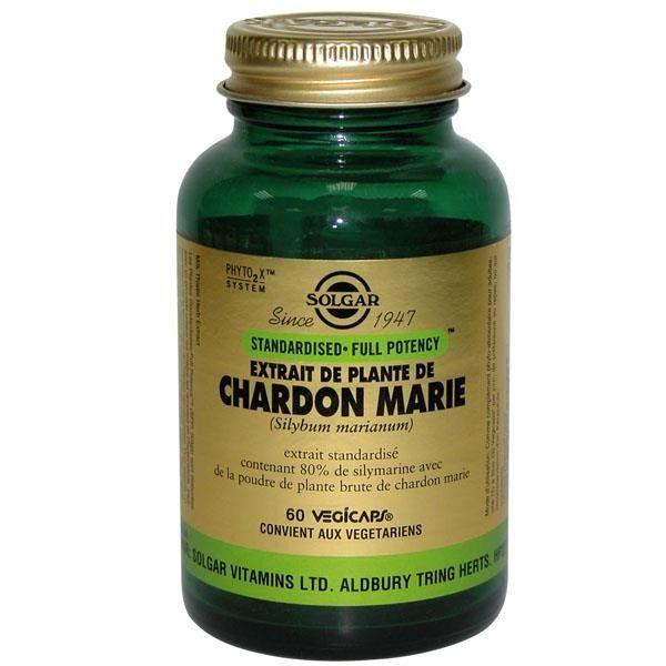Solgar SFP Chardon Marie 60 gélules végétales