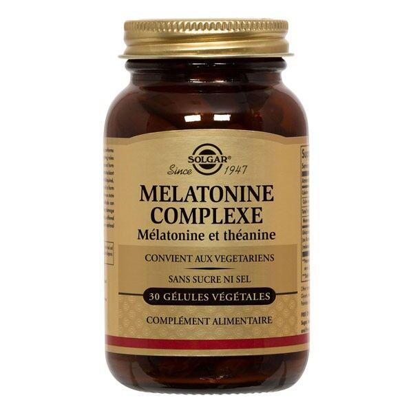 Solgar Mélatonine Complexe 30 gélules végétales