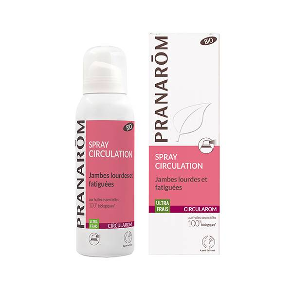Pranarom Circularom Spray Circulation Jambes Lourdes 75ml