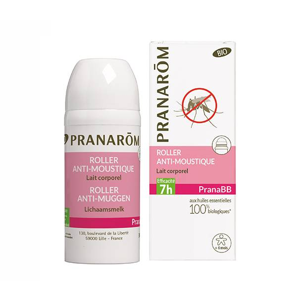 Pranarom PranaBB Roller Anti-Moustique Lait Corporel 30ml