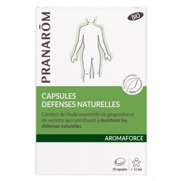 Pranarom Aromaforce Défenses Naturelles Bio 30 capsules