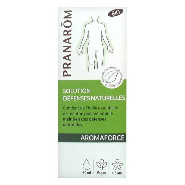 Pranarom Aromaforce Défenses Naturelles Solution Bio 30ml