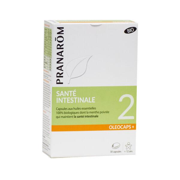 Pranarom Oleocaps+ Santé Intestinale Bio 30 capsules