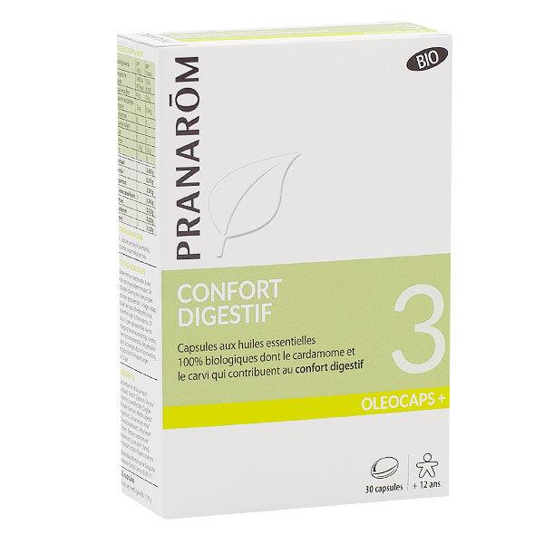 Pranarom Oleocaps+ Confort Digestif Bio 30 capsules