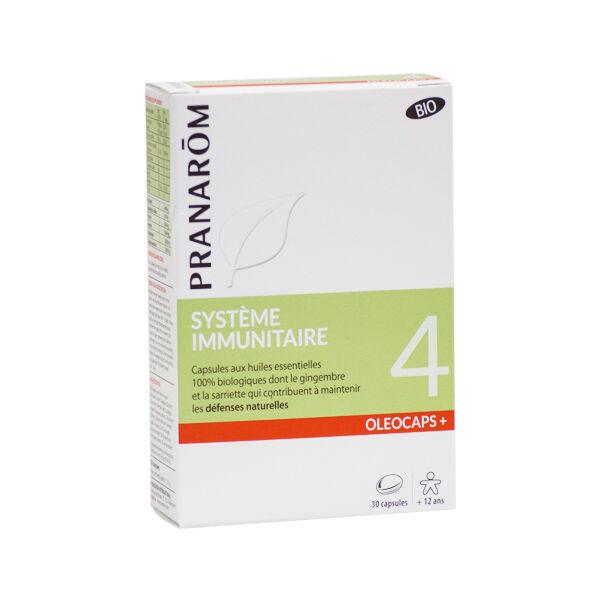 Pranarom Oleocaps+ Système Immunitaire Bio 30 capsules