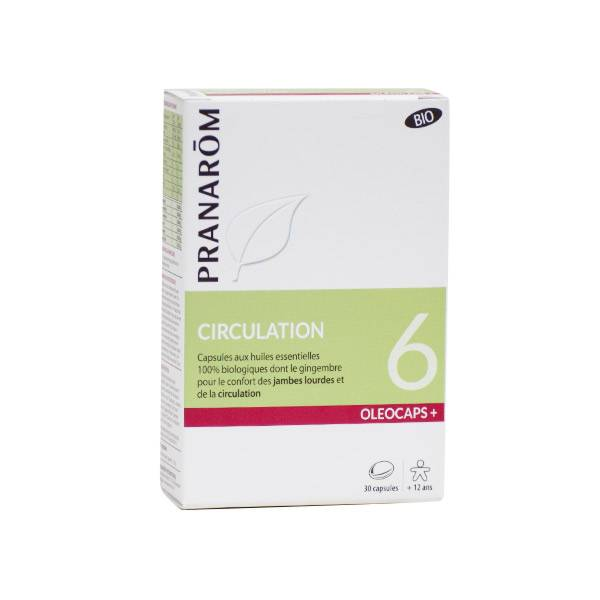 Pranarom Oleocaps+ Circulation Bio 30 capsules