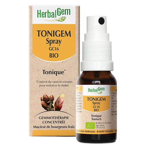 Herbalgem Tonigem Spray Bio 10ml