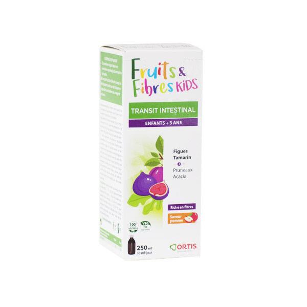 Ortis Fruits & Fibres Kids Sirop Transit Intestinal 250ml
