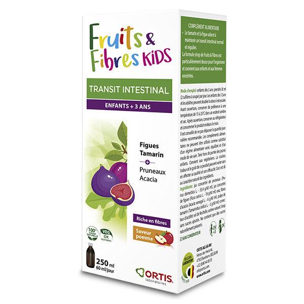 Ortis Transit Intestinal Fruits & Fibres Kids Sirop 250ml