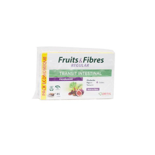 Ortis Fruits & Fibres Regular Transit Intestinal Pack Eco 45 cubes