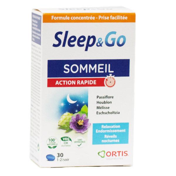 Ortis Sleep & Go Sommeil Action Rapide 30 Comprimés