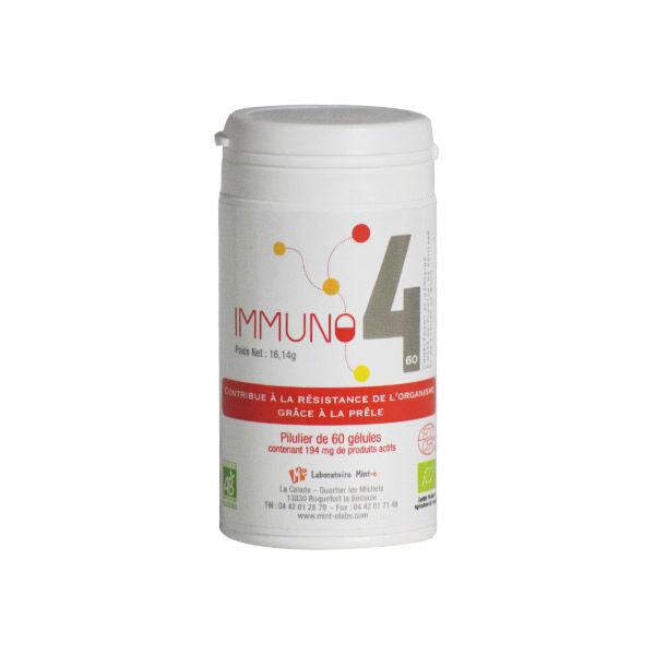 Laboratoire Mint-e Mint-e Immuno4 60 gélules