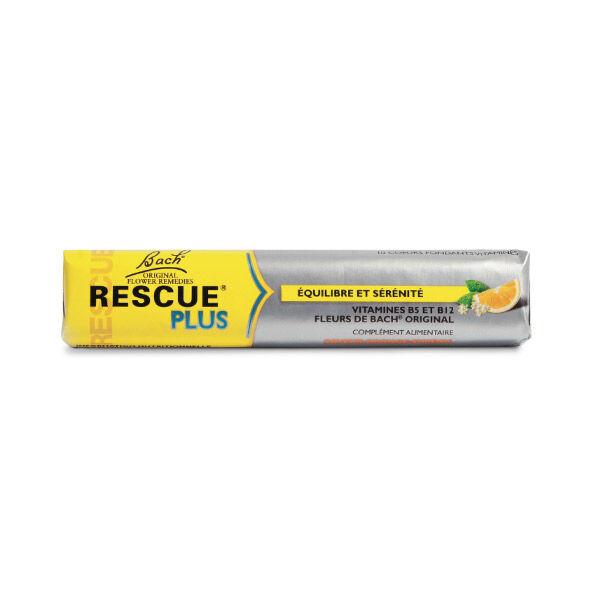 Rescue Plus Équilibre et Sérénité Goût Orange-Sureau 10 pastilles