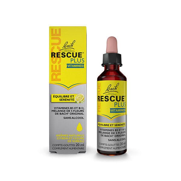 Rescue Plus Vitamines Compte-Gouttes Citron et Fleurs de Sureau 20ml