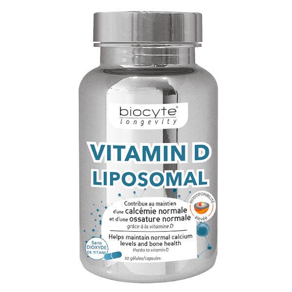 Biocyte Vitamine D3 Liposomal 30 gélules
