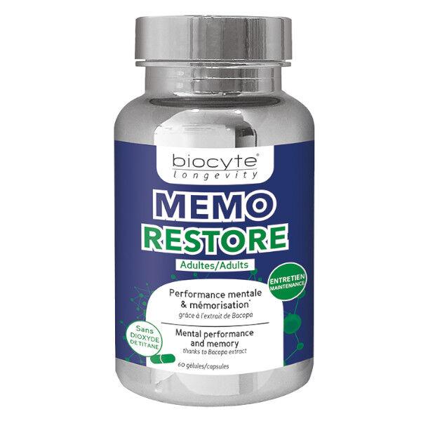 Biocyte Mémo Restore 60 gélules