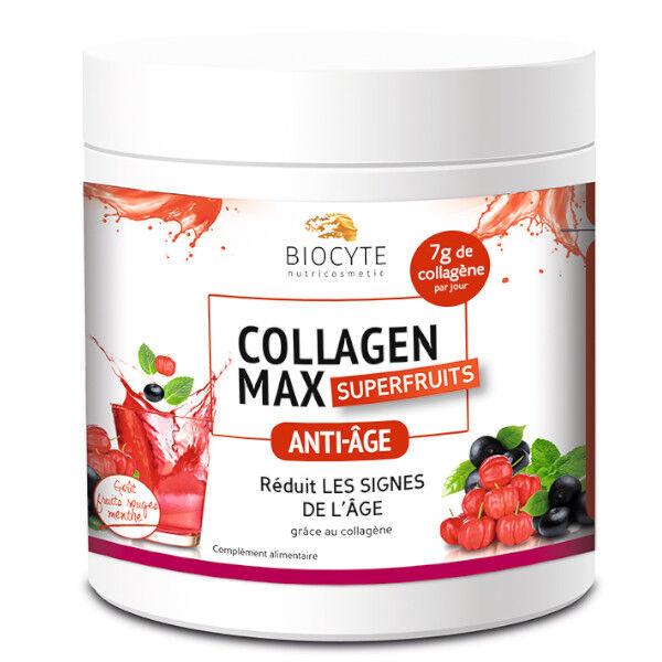Biocyte Collagen Max Anti-Âge Superfruits 260g